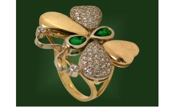 Золотое кольцо К-005