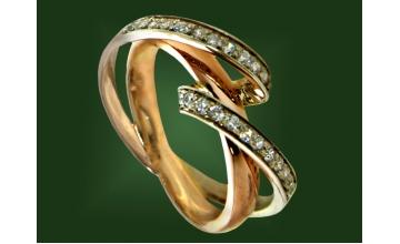 Золотое кольцо К-194