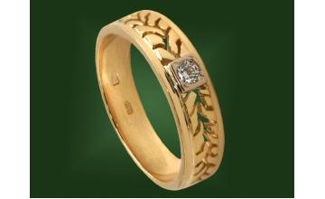 Золотое кольцо К-210