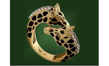 Золотое кольцо К-055