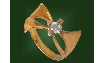 Золотое кольцо К-196