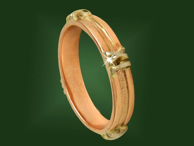 Золотое кольцо К-078