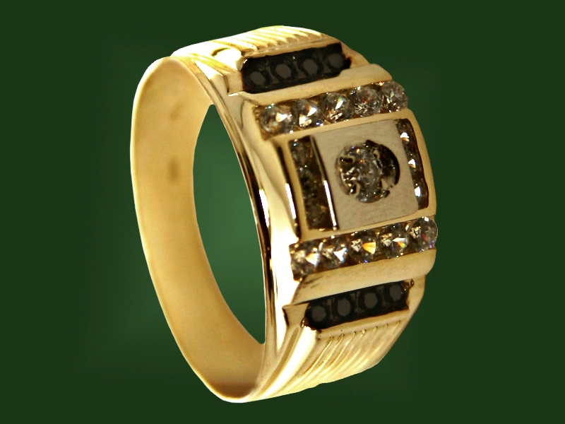 Золотая печатка К-036