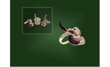 Золотое кольцо К-164-2