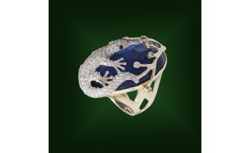 Золотое кольцо К-168