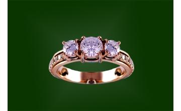 Золотое кольцо К-198