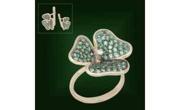 Золотое кольцо К-206-2