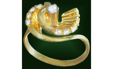 Золотое кольцо К-216