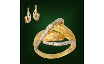 Золотое кольцо К-220