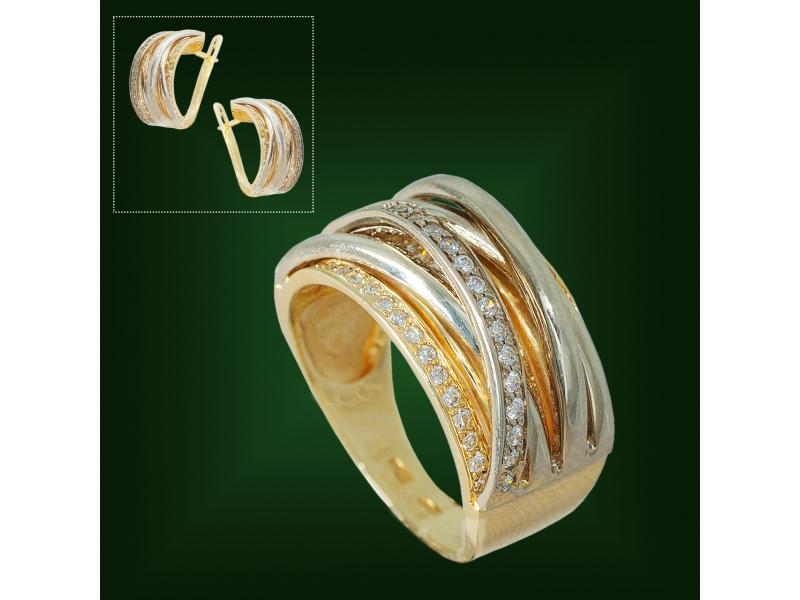 Золотое кольцо К-221