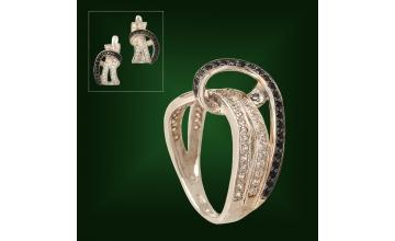 Золотое кольцо К-227