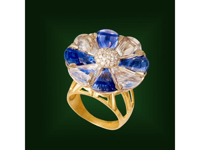 Золотое кольцо К-229-1