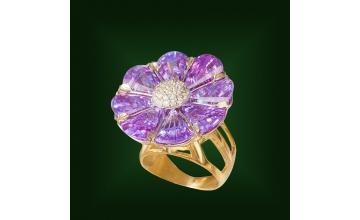 Золотое кольцо К-229-2