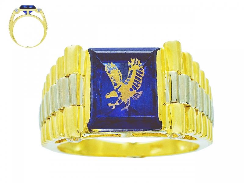 Золотая печатка К-232