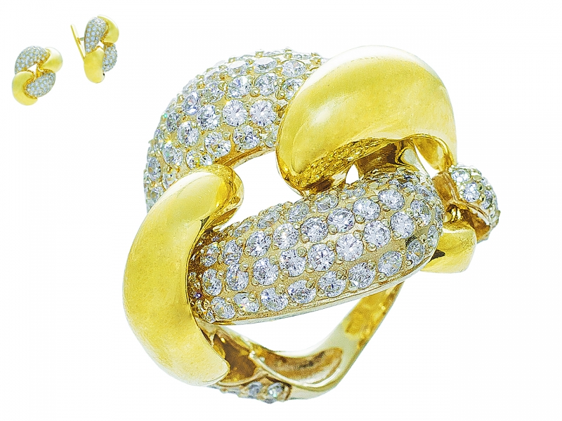 Золотое кольцо К-237
