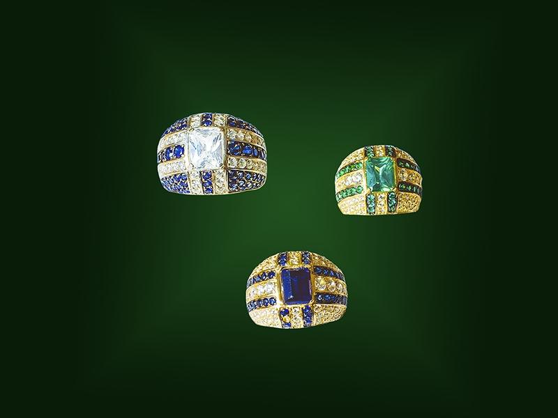 Золотое кольцо К-241