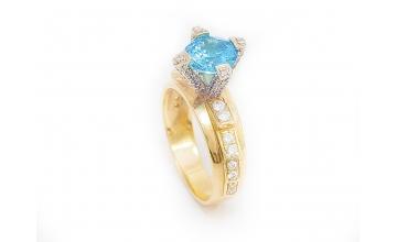 Золотое кольцо К-245
