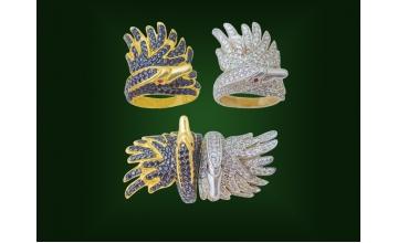 Золотое кольцо К-247