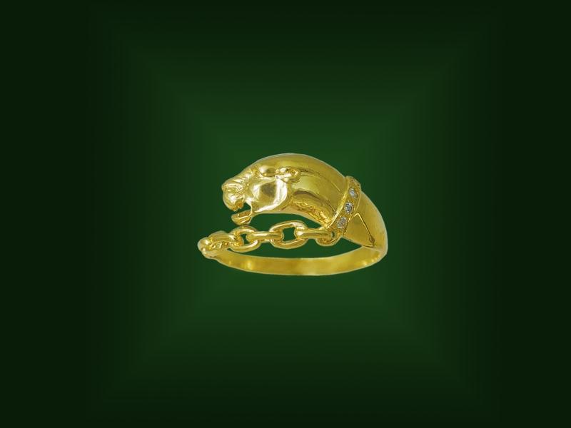 Золотое кольцо К-251