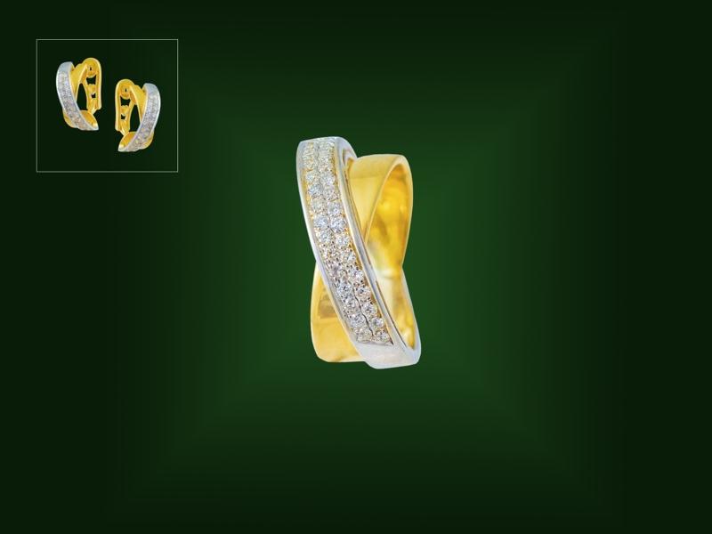 Золотое кольцо К-253
