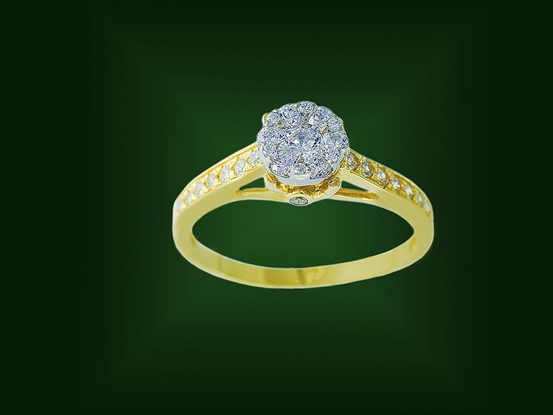 Золотое кольцо К-255