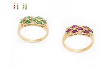 Золотое кольцо К-257