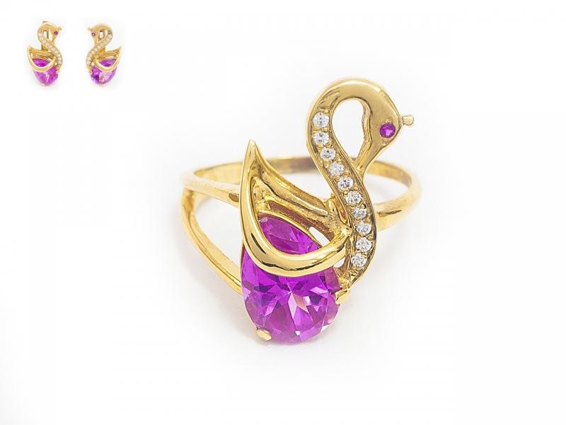 Золотое кольцо К-263