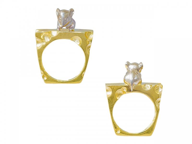 Золотое кольцо К-273