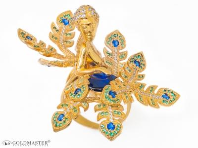 Золотое кольцо К-299