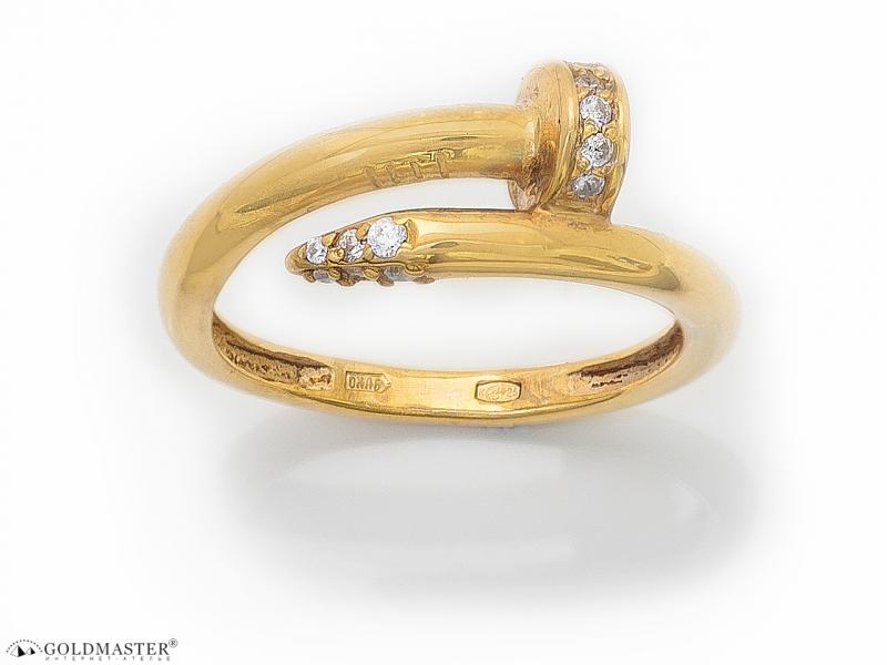 Золотое кольцо К-316