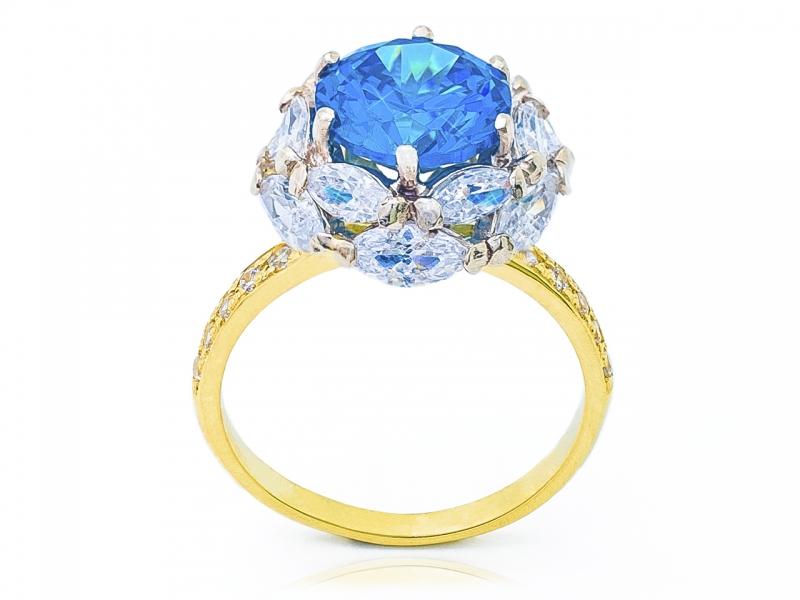 Золотое кольцо К-342