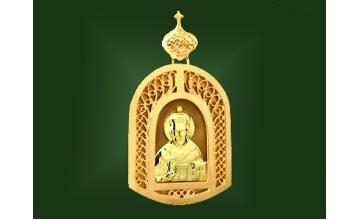 Золотая икона П-004-1
