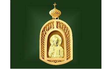 Золотая икона П-004