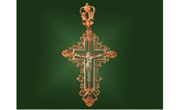 Золотой крест П-010