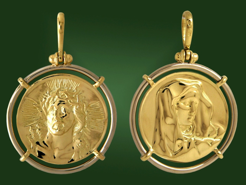 Золотая икона П-020