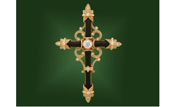 Золотой крест П-034