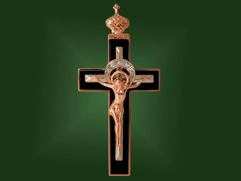 Золотой крест П-036-1