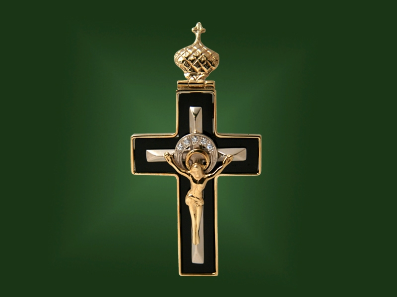 Золотой крест П-036