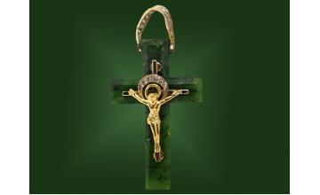 Золотой крест П-038