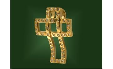 Золотой крест П-040