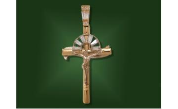 Золотой крест П-073