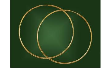 Золотые серьги С-002
