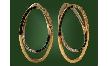 Золотые серьги С-031