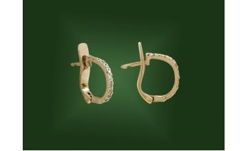 Золотые серьги С-071