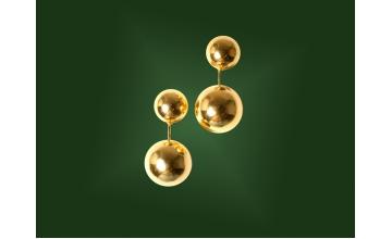 Золотые серьги С-056