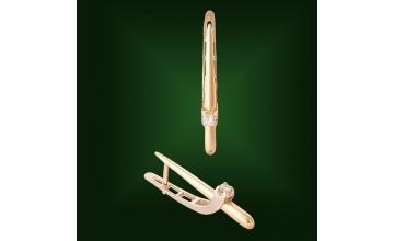 Золотые серьги С-076