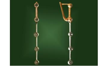 Золотые серьги С-081