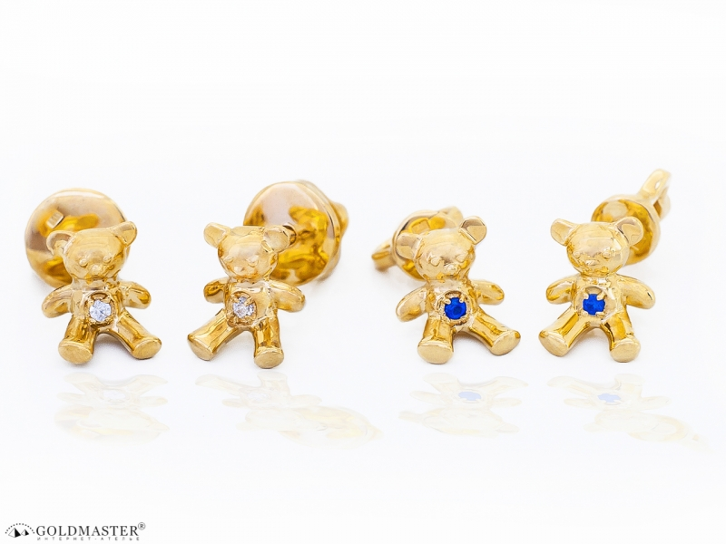 Золотые серьги С-109