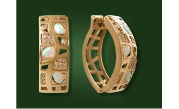 Золотые серьги С-157