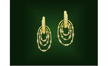 Золотые серьги С-229